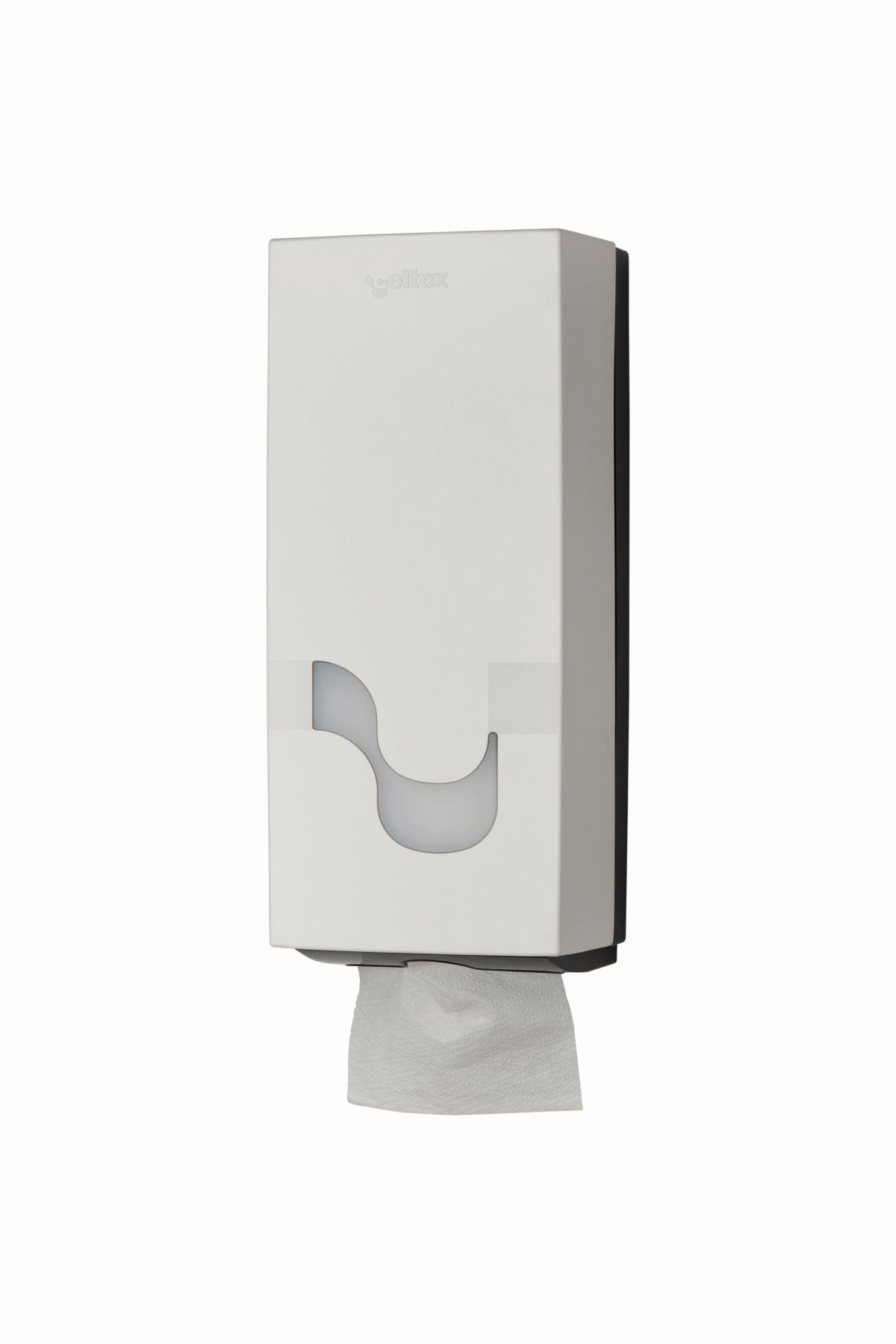 Toilettenpapierspender intop weiß