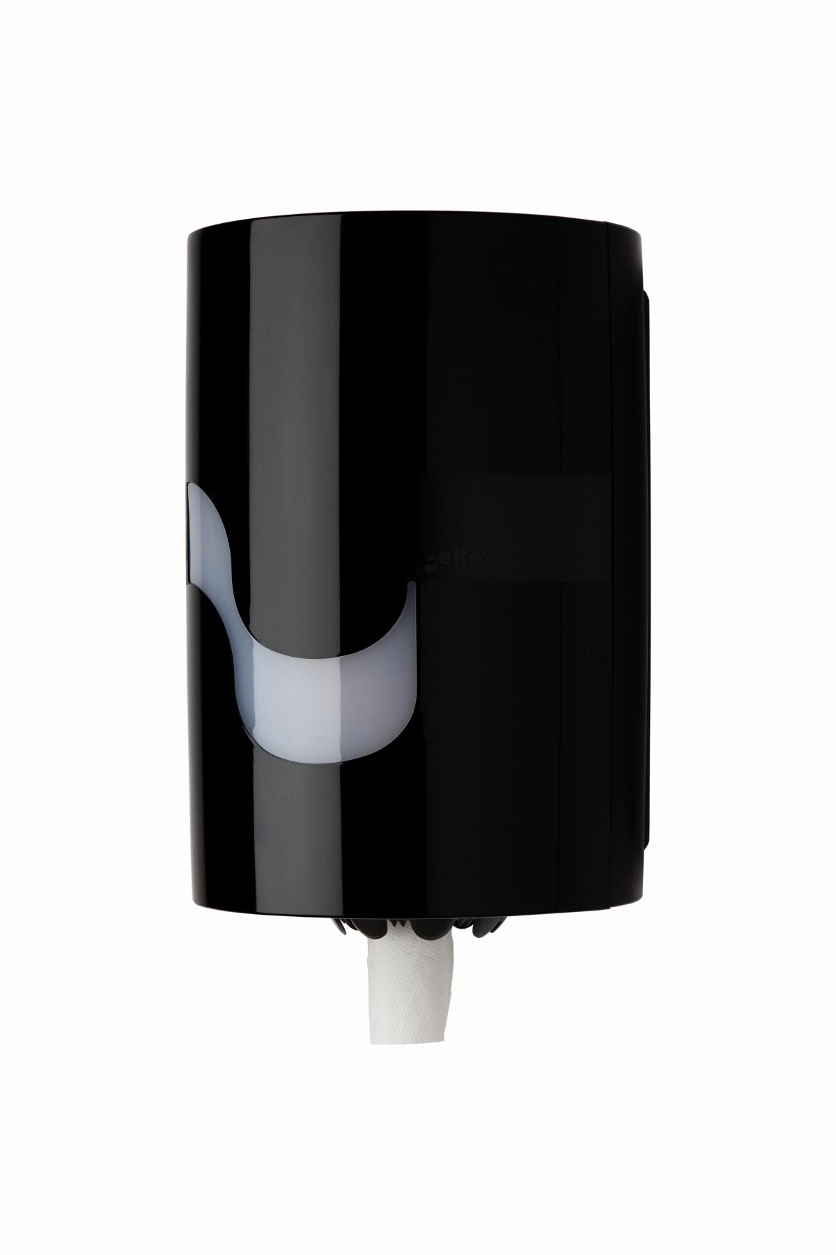 Handtuchrollenspender midi Box schwarz