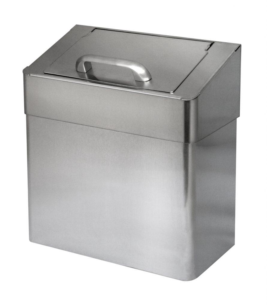 Abfallbehälter Damenhygiene Edelstahl