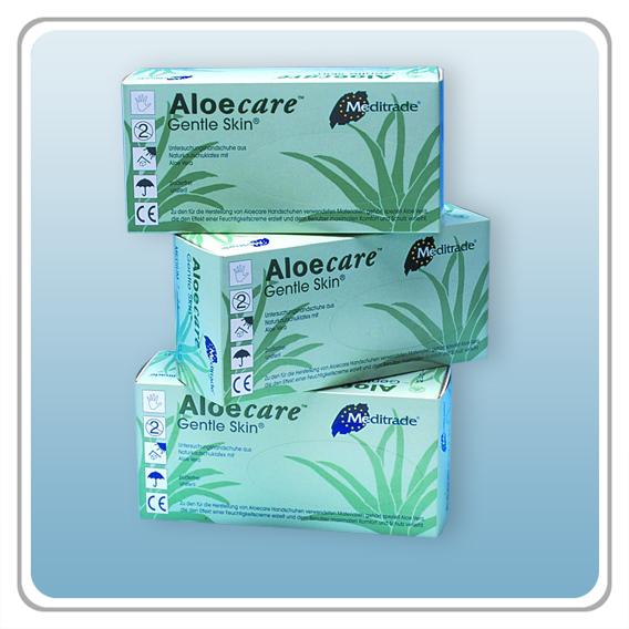 Latex-Einmalhandschuhe - Aloecare