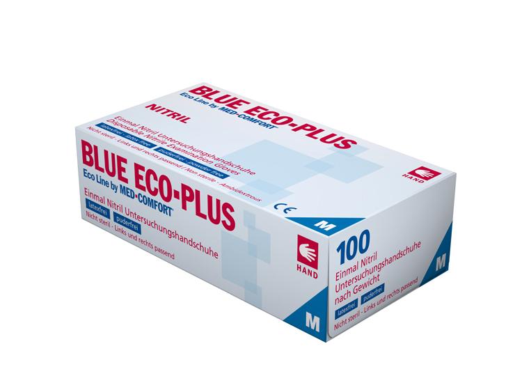 Nitril-Einmalhandschuhe ECO-PLUS BLUE