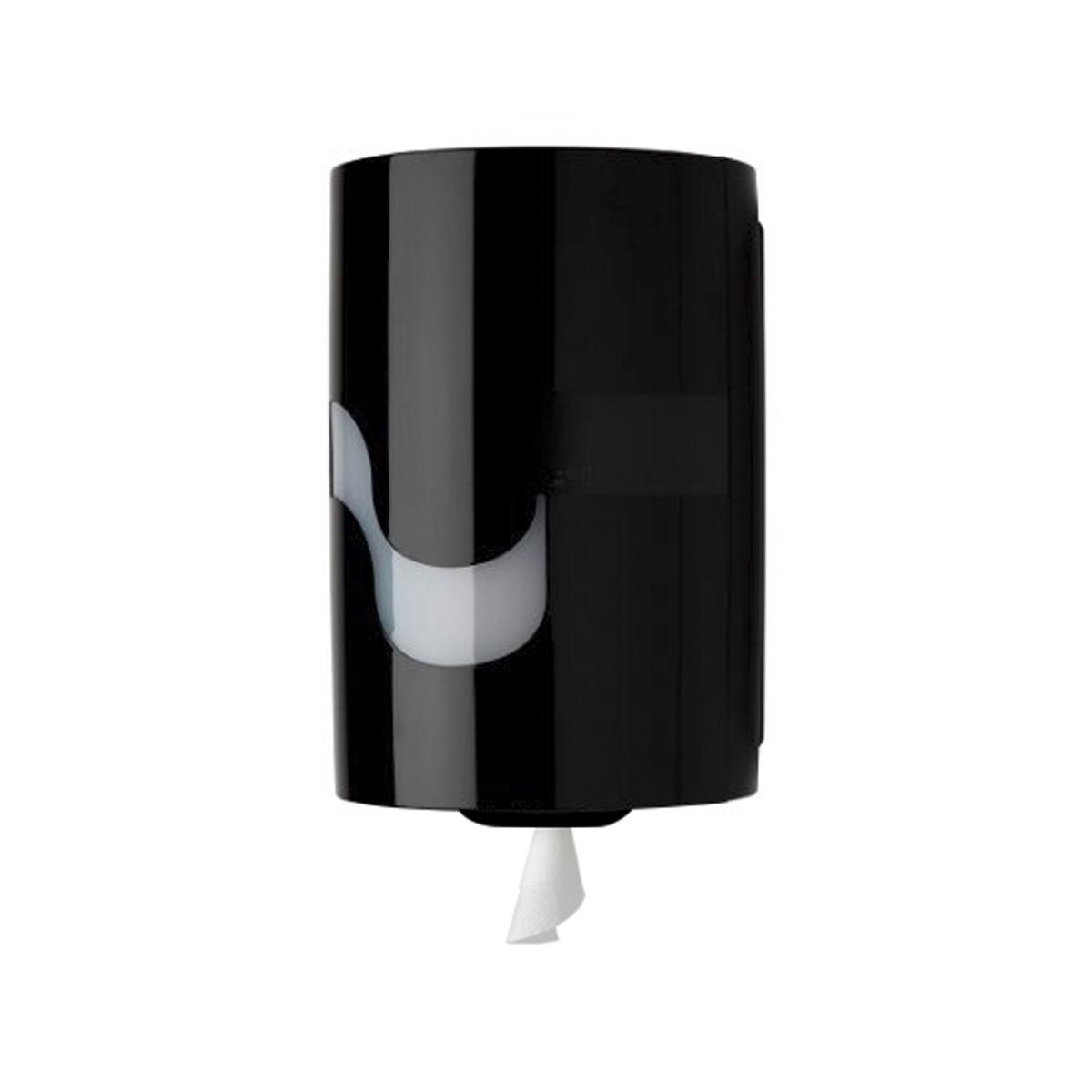 Handtuchrollenspender midi perfo Box schwarz