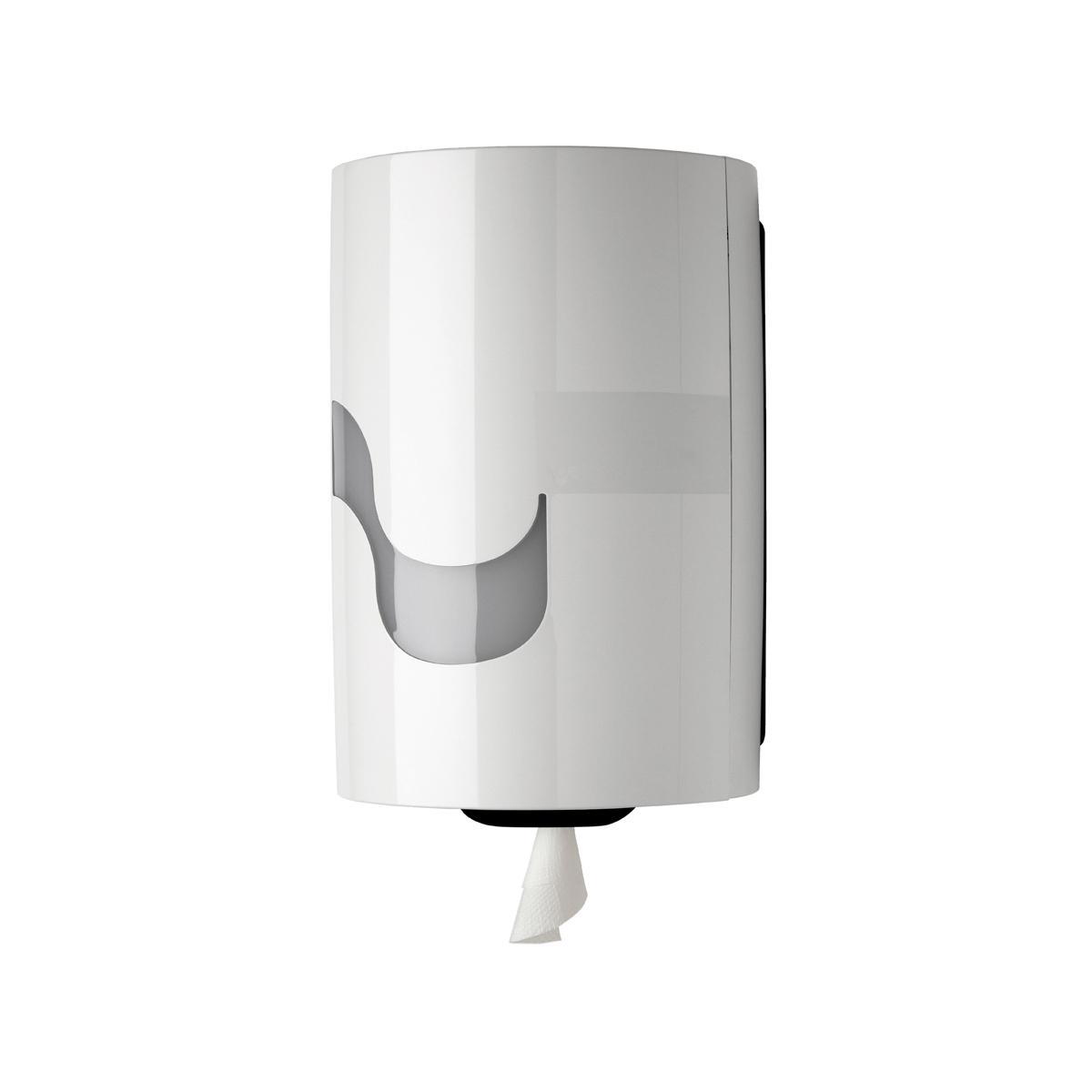 Handtuchrollenspender midi perfo Box weiß