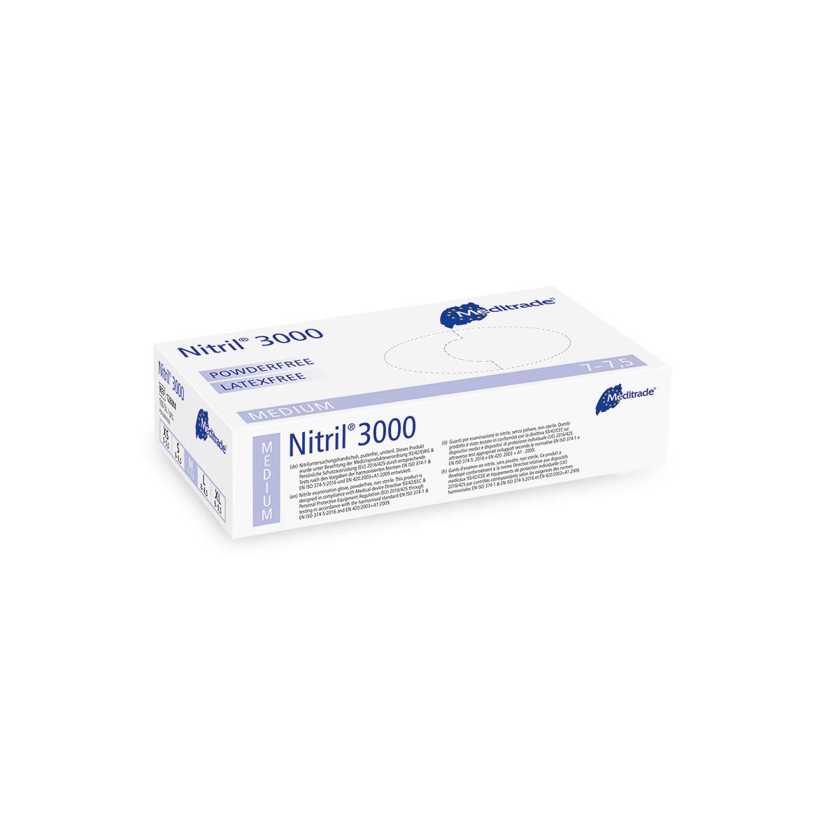 Nitril-Einmalhandschuhe