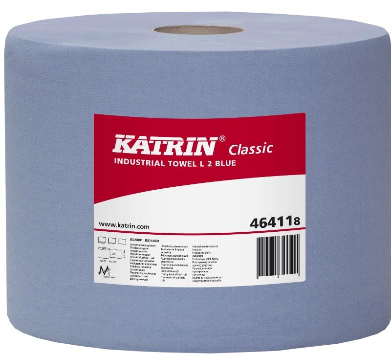 Putzpapierrolle blau 22 cm