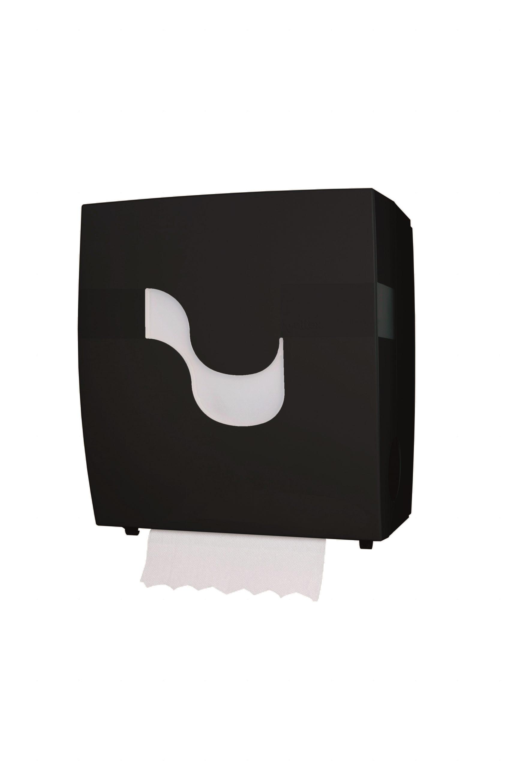 Handtuchrollenspender autocut schwarz