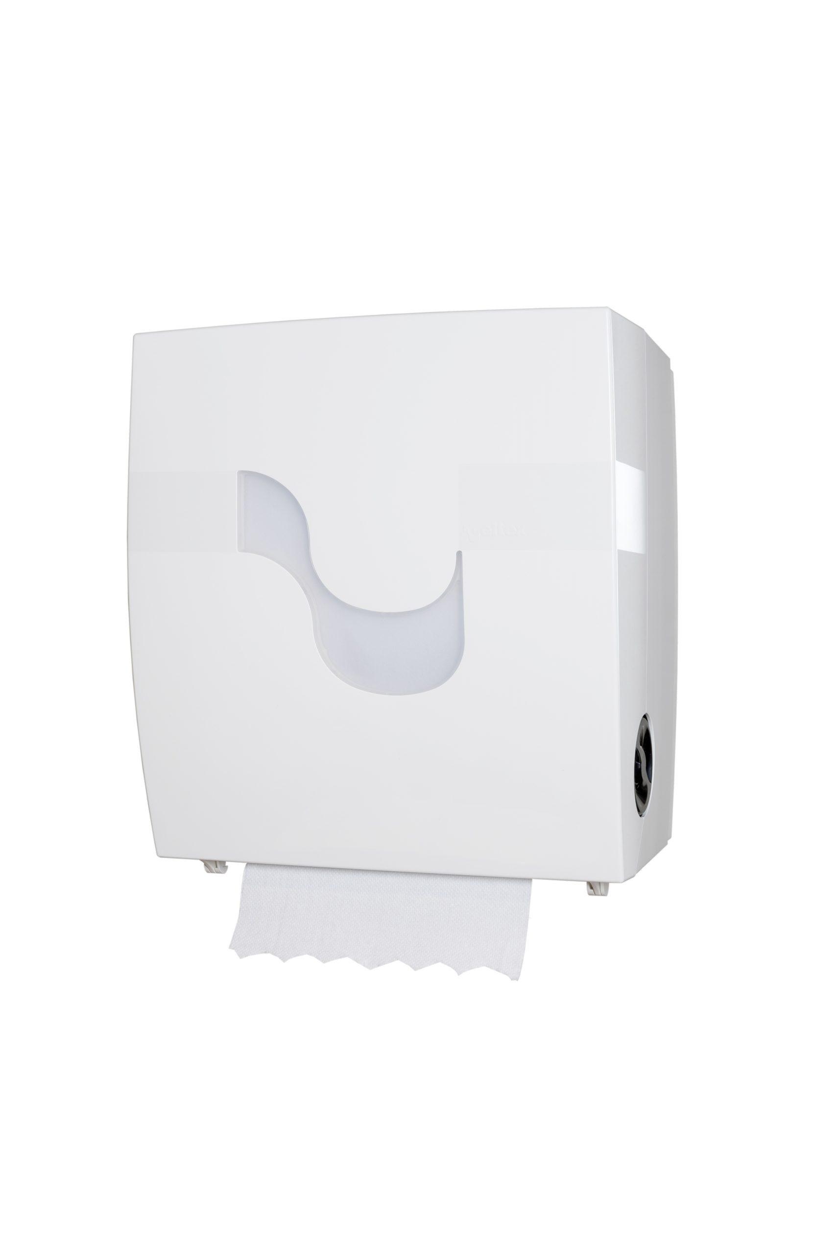Handtuchrollenspender autocut weiß