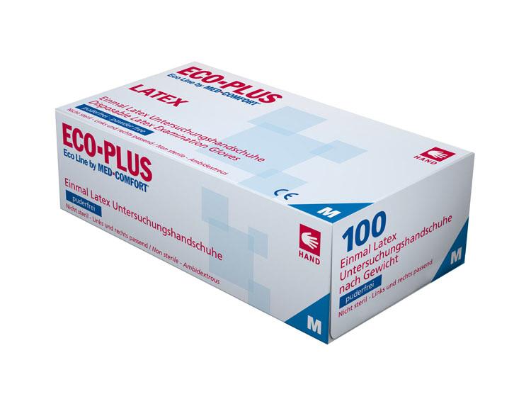 Latex-Einmalhandschuhe ECO PLUS