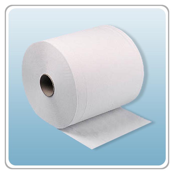 Putzpapierrolle weiss 22 cm