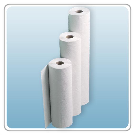 Liegenabdeckungen Tissue/PE 55 cm
