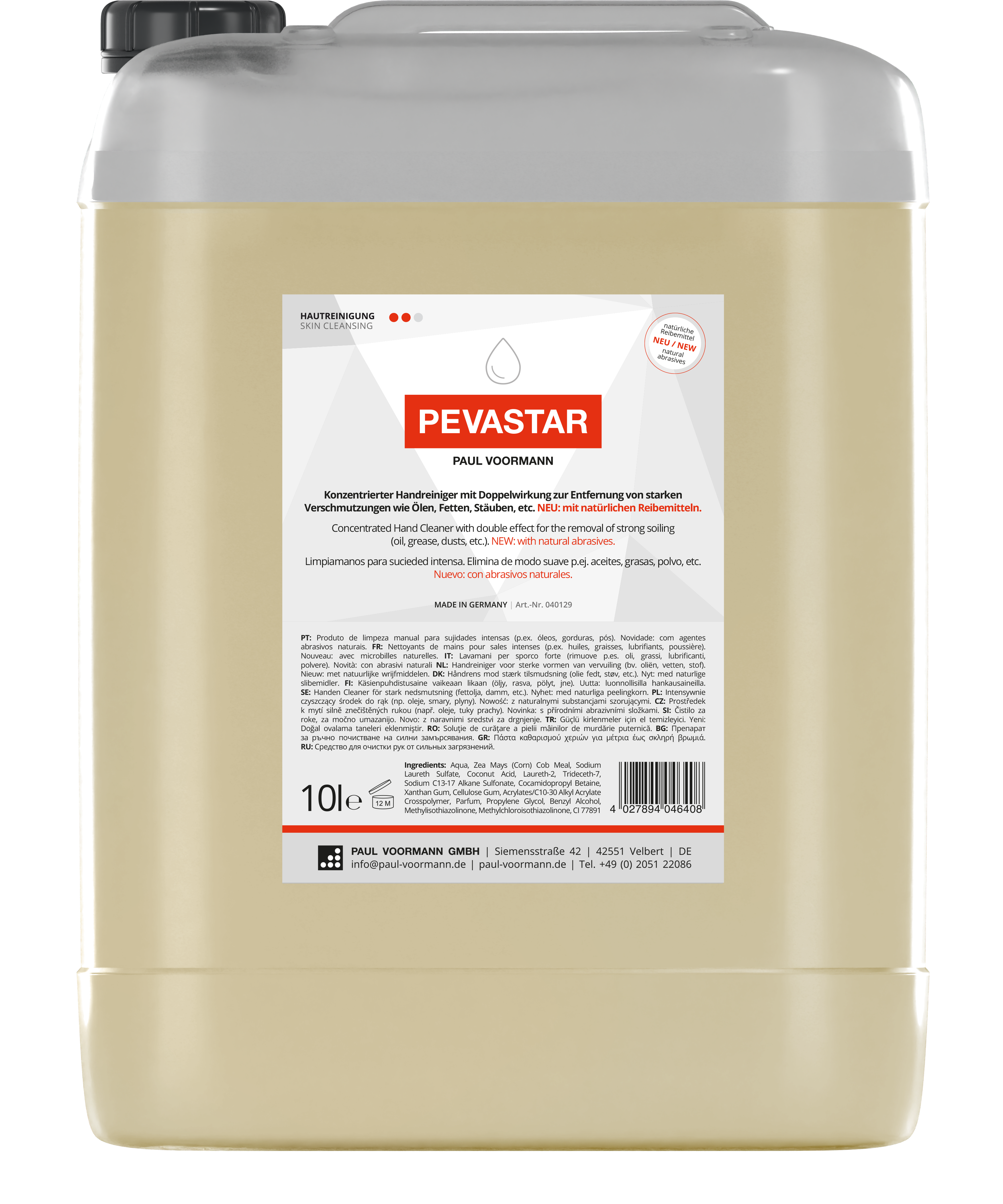 Handwaschpaste Pevastar