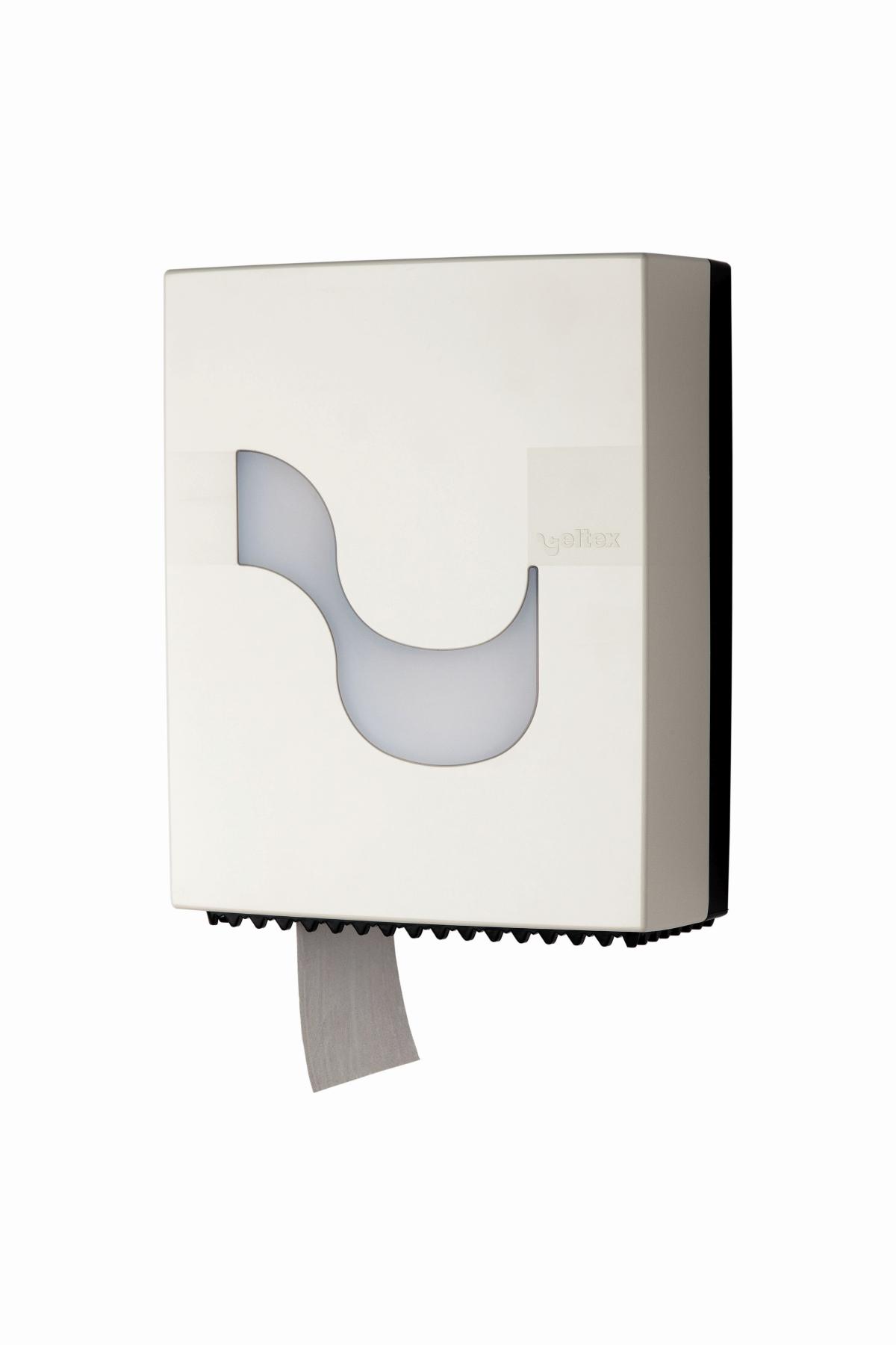 Toilettenpapierspender Mini weiß