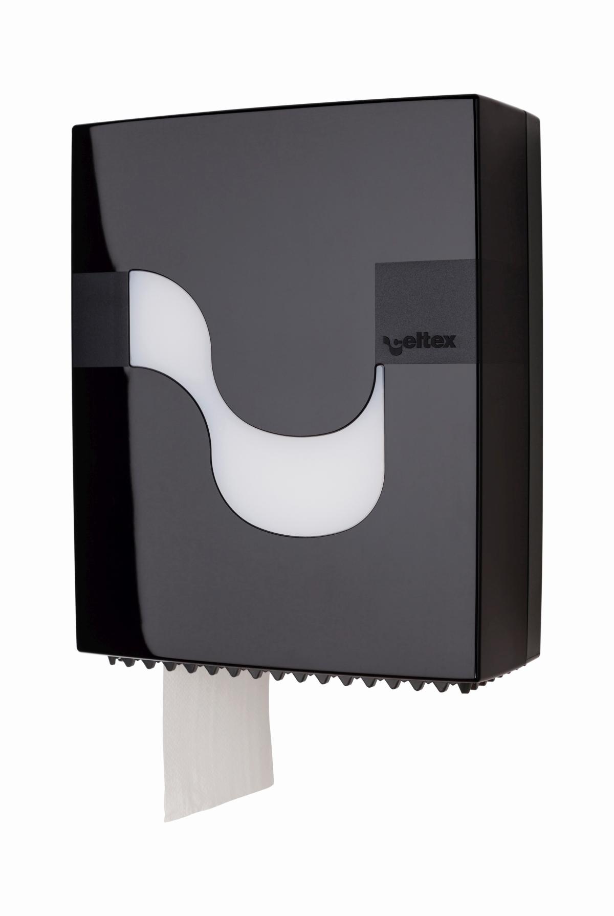 Toilettenpapierspender Mini schwarz